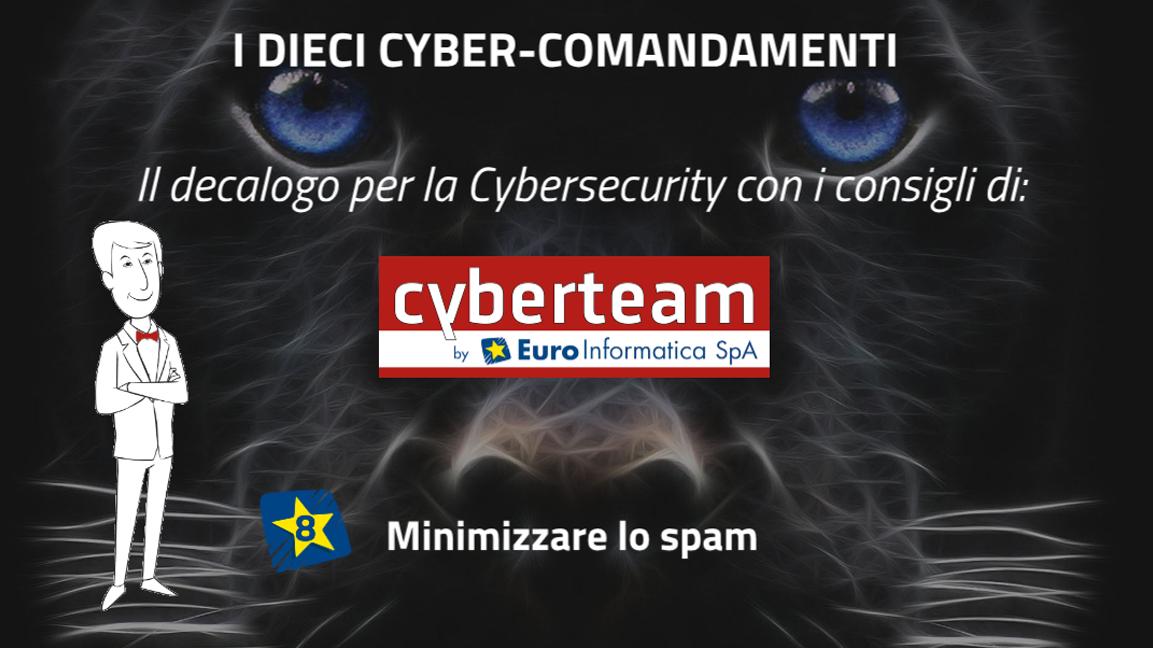 Minimizzare lo spam – I Dieci Cyber Comandamenti