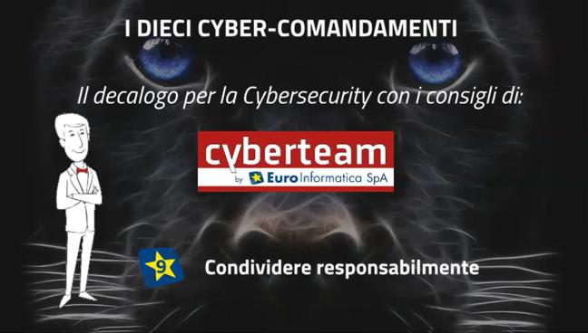 Condividere responsabilmente – I Dieci Cyber Comandamenti